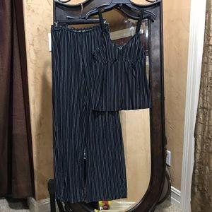 Two piece pajama and tank set!!🥰